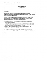Accesibility Plan 2015