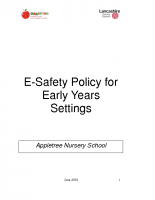 eSafety Policy for Early Years Settings